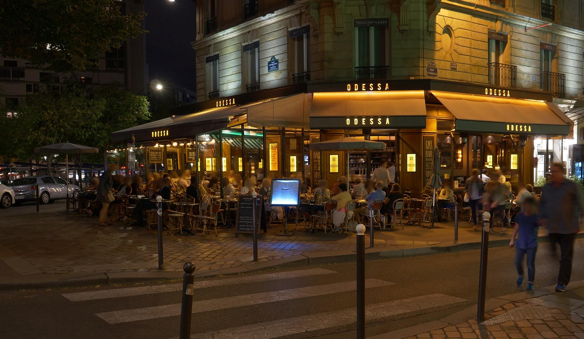 L Odessa Restaurant Montparnasse Brasserie Et Cuisine Francaise